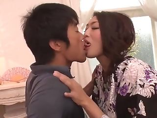 Reiko Kobayakawa Deep Throats And Fucks Two Horny Folks - More At...