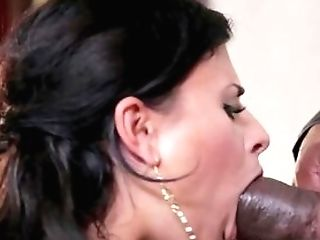 Dark Haired In Sexy Undergarments, Very First Time Hard Fucked By A...