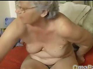 Omapass Naked Grand-ma Showoff Hairy Footage