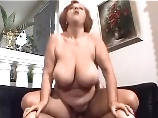 Matures Woman With Big Saggy Melons Trio- Wear Tweed 1