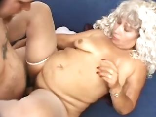Gross Curly Bitch With Fat Assets Is Worth Some Wild Rear End Style...