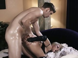 Depraved Barbie Sins Gets Her Alluring Lubricated Asshole Fucked...