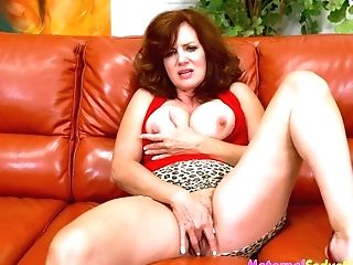 Andi James In Mom Wants To See My Spear