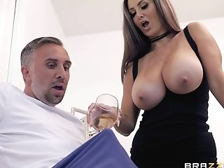 Total-titted Porno Actress Ava Addams Makes Keiran's Fantasies...
