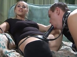 Princess Sexy Strap Dildo Boots Part 1