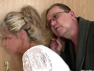 His Old Parents Tricks Her Into Threesome