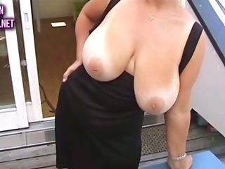 I Love Big-titted Chicks And Everybody Does And This Cougar Is...