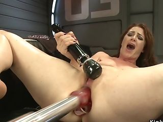Rear End Plugged Matures Fucks Love Making Playthings