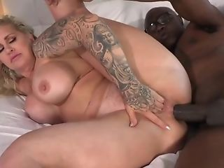 Ms.conner Gets Assfuck Big Black Cock