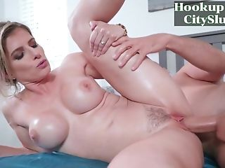 Blonde Cougar With Big Tits Cory Chase's Morning After - Hd...