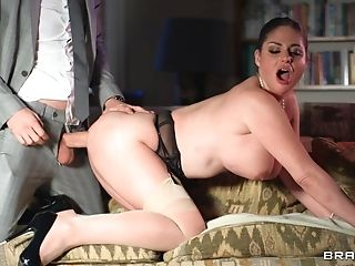 Buxom Matures Cathy Heaven Opens Her Gams To Be Fucked By Her Manager