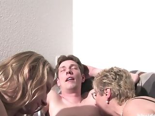 Bbvideo.com German Mummy And Cutie Sharing A Hard Penis
