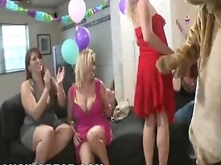 Dancing Teddy - Bday Beef Whistle Surprise Cfnm Orgy Soiree