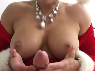 Milftrip Blonde Invites Neighbor Over For His Christmas Eve...