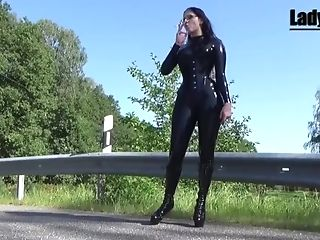 Spandex Mistress Smoking Preview