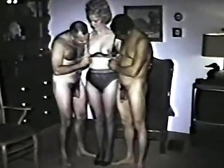 First-timer Day - Matures Threesome Part Two