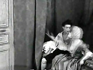 Youthfull Doll Sneaks Boy Into Room (1920s Antique)