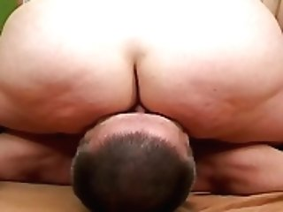 Big-titted Woman Sits On His Face