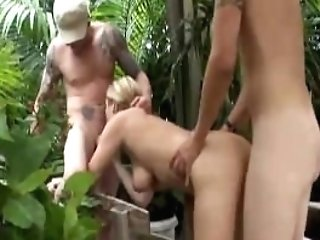 Sexy Cougar Slobber Roasted Outside