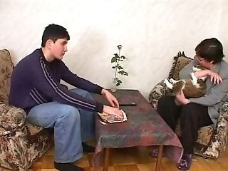 Old Gross Hairy Russian With Youthfull Neighbor