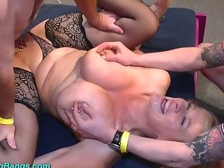 Blonde Tart With Yam-sized Boobies Marina Montana Is Fucked By A...