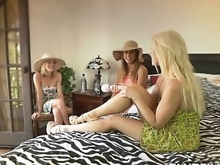 Hot Vocations Of Orgy-appeal Gfs Finishes Up With Dirty Girly-girl...