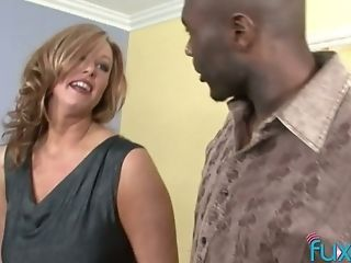 Ample Jugged Mummy Is Cheating On Her Spouse With Big Black Cock