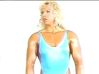 Pretty Woman With Pretty Muscles