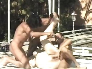 Fat Euro Bitch Gets Piss Fuck Gang-bang By Youthful Studs And Their...