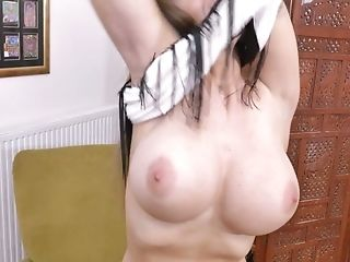 Buttfuck-insane Housewife Cathy Heaven Is Finger Fucking Her Butt...