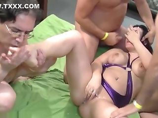 Elina Flower In Wild Gang-bang Ory