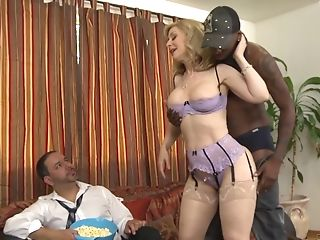 Horny Matures Wifey Nina Hartley Interracial Hard-core Hotwife...