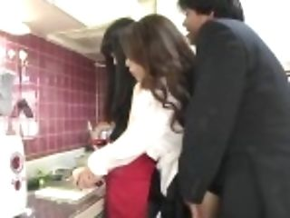 """""""risky Jav Covert Intercourse With Mommy In Law In Kitchen..."""