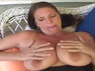 Big-titted Mom Carrie Moon In Stockings Deepthroats And Fucks