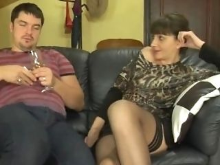 Dude Fucks Russian Matures Aunt-in-law In Stockings 52