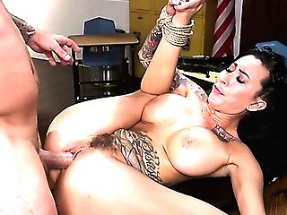 Mummy With A Yam-sized Tattoo And Big Boobies Lily Lane Is Fucked...