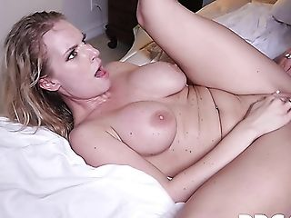 Stunning Huge-titted Cougar Rachael Cavalli Gets All Sweaty While...