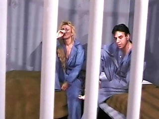 Blonde Grandmother In Jail Still Has The Oral And Fucking Abilities