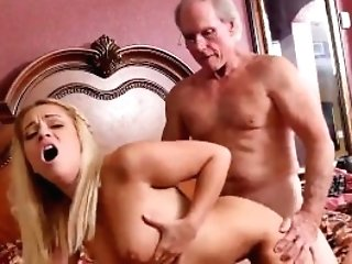 French Old Man Fucks Youthfull And Sweet Old Granny And Youthfull...