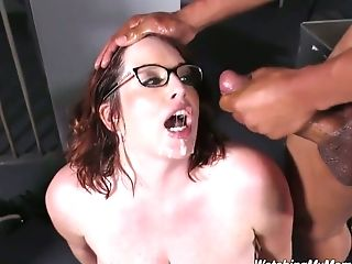 Horny Black Dudes Fuck Fuck-fest-appeal Buxomy Milky Mommy Of Their...
