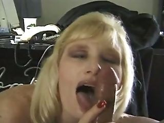 See My Own Puckered Blonde Wifey Who Is Blessed To Work On My Dick...