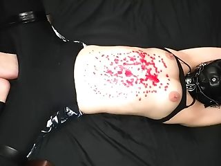 Miss Perversion Fighting In Restrain Bondage