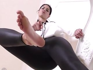 Miss Elena Stomps You Under Her Nude Feet