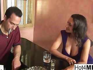 Hot Mummy Persia Is Longing More Rod