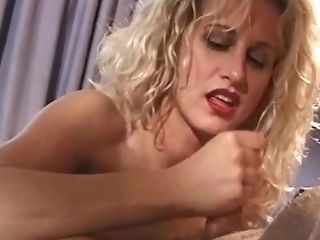 Horny First-timer Cougar Loves To Suck And Jack Hard Pipe