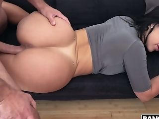Ample Titted Cuban Gf Gets Mad At Her Bf And Makes Him Smell Her Culo