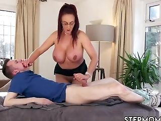 Mummy Double Penetration Big Tits Tattoo Big Tit Step-mom Gets A...