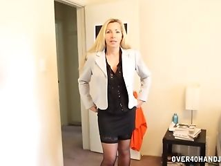 Horny Blonde Wifey Lisa Demarco Comes Home From Work And Deep...