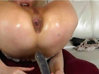 Russian Matures Webcam Nymph In Stockings Using Fuck Sticks