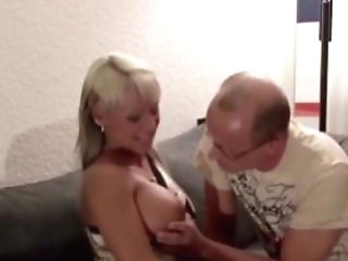 Step Dad Entice Youthfull German Gal To Fuck When Mom Away